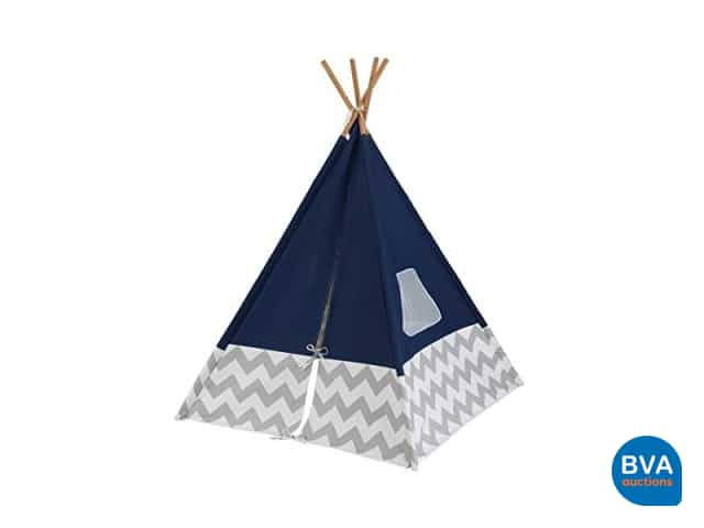 KidKraft Tipi tent Marineblauw BVA Auctions online