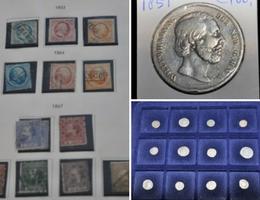 Postzegel- en muntcollecties te Leiden