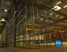 Pallet racks & inventory logistics service center