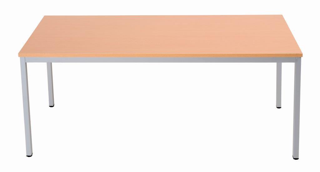 10 Stk. Schreibtisch 80x80cm, Buche