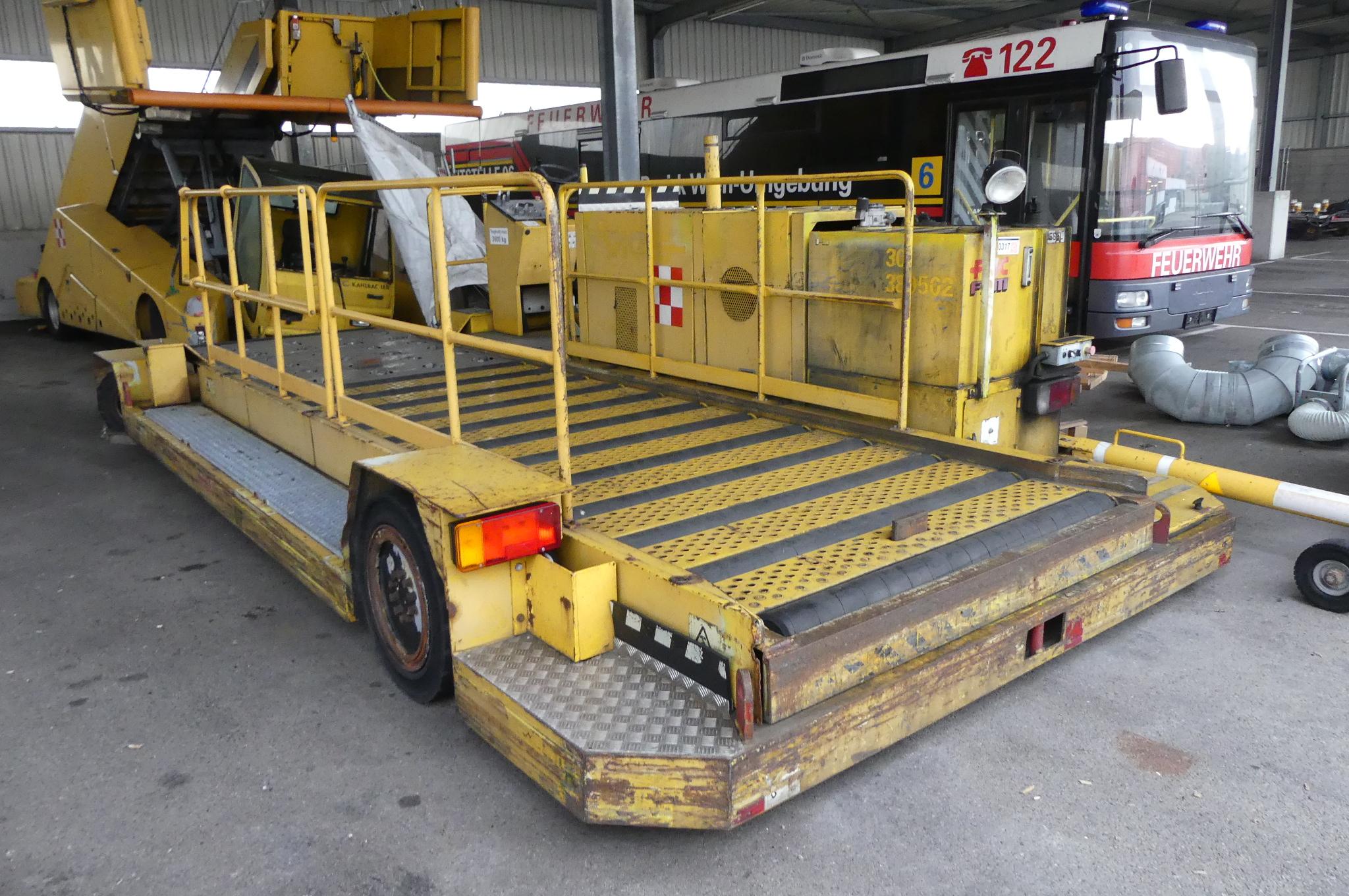 Container-Hubbühne FNC FSN CLT-8