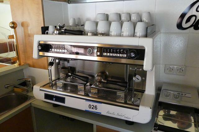 Industrie-Kaffeemaschine Schärf by Ostoria Barista pro