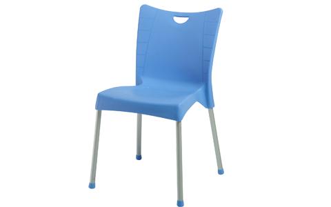 50 Stk. Kunststoffschalenstuhl Blau