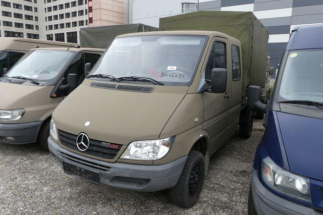 LKW (N1G) Mercedes-Benz Sprinter 313 CDI/4x4 Pritsche