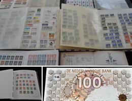 Unieke postzegel en munten collecties uit privé collectie te Zwolle