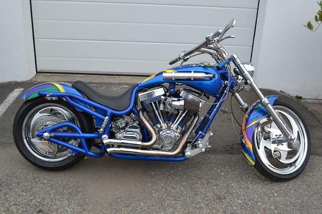 Custom Bike Bourget Bike Works Chopper Low Blow