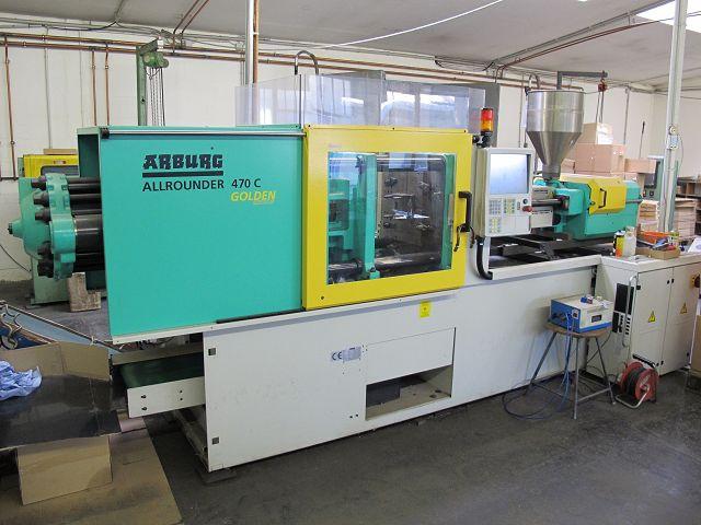 Kunststoff-Spritzguss-Maschine Arburg Allrounder CENTEX 470C 1500-400 Golden Edition