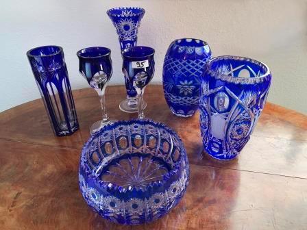 Glas- und Porzellanware