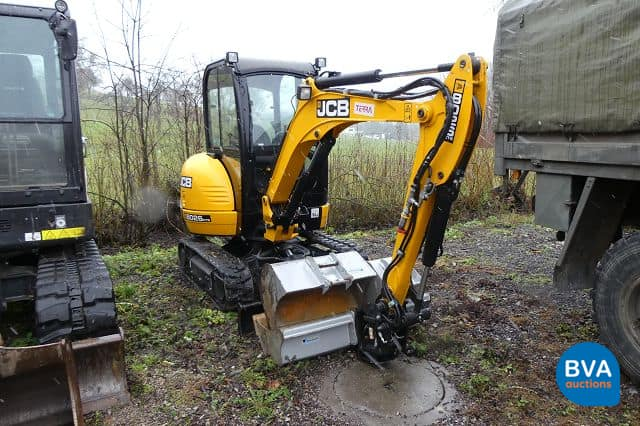 Mini-Raupenbagger JCB 8026 CTS