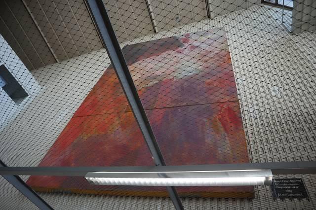 geschlossenes Negativ-Kreuz II - Richard Peter Schmid